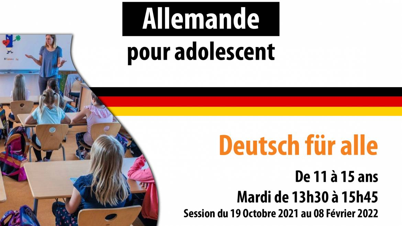 Cours de langue Allemande pour adolescent – DSIA